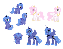 More puppet samples - Woona and Tia by Zedrin