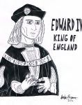 King Edward IV, of England by squidge16