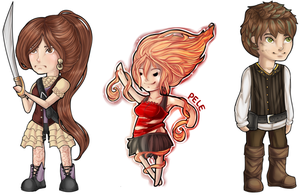 Chibis by SweetButEvil