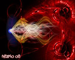 Abstract - red by nizmo09