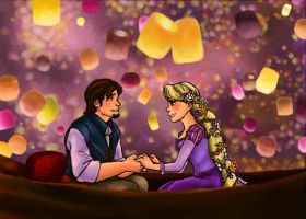 the light- tangled-for kara by snowindry