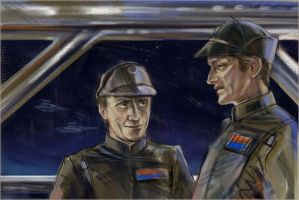 Imperial officers by darefi
