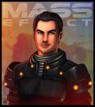 Mass Effect - Kaidan Alenko by lux-rocha