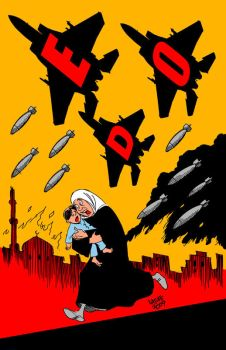 Smash EDO by Latuff2