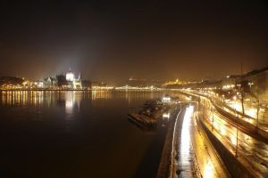 View of Pest and Buda by EuropeTrio