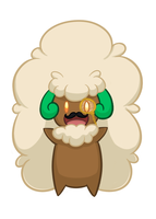 Like a Sir Whimsicott by AbyLockhart