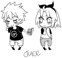 NaruSakuWeek . Juice by starchiishio