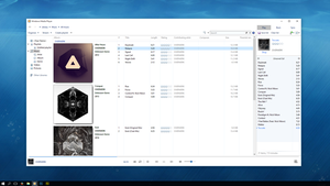 Windows 10 Media Player Facelift by TriggerSpasm