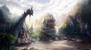 The pirate village by xpe