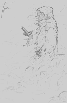 Sketch 1: Lost in the Ash by Votdren