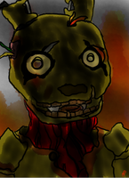Springtrap by DarkenedGroves