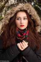 Winter portrait stock 02 by simonamoonstock