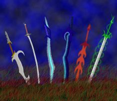 Elemental Swords by Genises