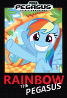 Rainbow the Pegasus by nickyv917