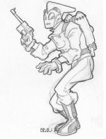 Rocketeer Pose 2 by beaubaphat