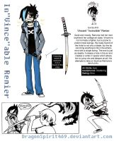 Evil Ex: In'Vince'able Renier by DragonSpirit469