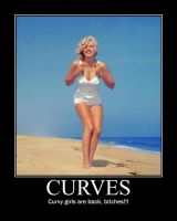 Curvy Girls by LookingxGlassxchica