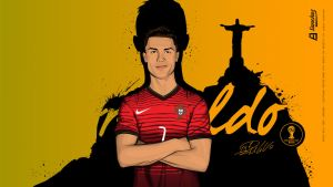 Cristiano Ronaldo - World Cup 2014 by drifter765