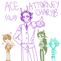 Ace Attorney by ChronicFolly
