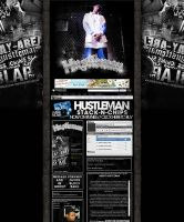 Hustleman Myspace Layout by GrahamPhisherDotCom