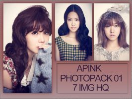 PHOTOPACK 01 APINK by tutosparakpop