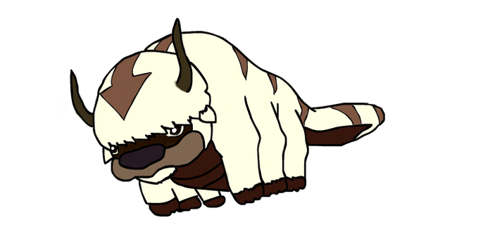 Appa - Coloured but not shaded by TheOnlyJero