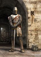 Knight of the Temple by Alfredsson