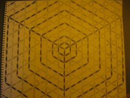 The flower of life cubed by FractalLiving