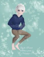 Jack Frost wishes you HAPPY NEW YEAR!!! by RapunzelitsaTangled