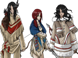 APH: The Aboriginals by Misharoyuki