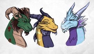 The Old Guardians by DragonOfIceAndFire