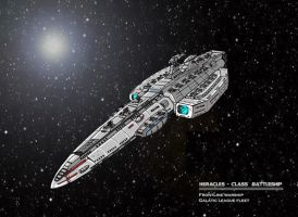 Heracles cruiser concept by JMonteiro