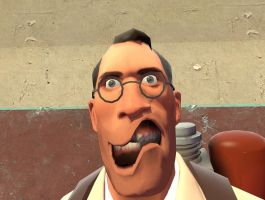 Medic WTF face by TheXeldoN