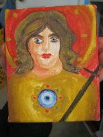 Archangel Michael Painting by Umi-No-Tenshi