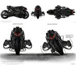 terminators bike by shigureslove7