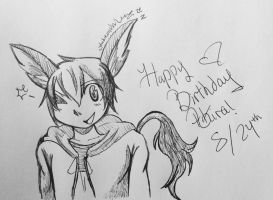 Happy birthday Akira! by TheNeonUmbreon