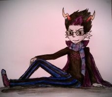 Eridan~ *smolder* (Homestuck) by mell1you0