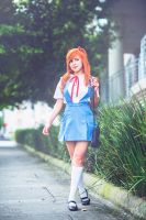 Asuka Langley School time by nadyasonika