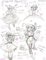 Angel Dance Party by OreoMilu
