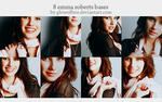 8 emma roberts bases. by glowoffme