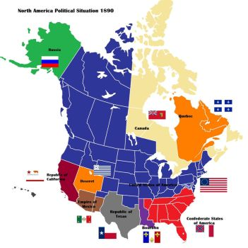 AltHist North America Map 1890 by DaemonofDecay