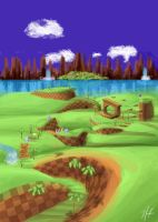 Green Hill Zone by UpaUpa