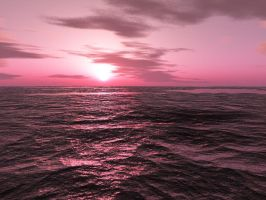 Dawn At The Red Sea by Hodgie-Boy