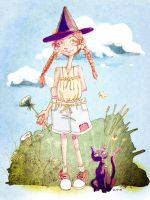 Little Summer Witch by S-Hirsack