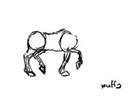 Animation: Horse trot by Muffy13