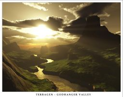 The Godhanger Valley by alyn