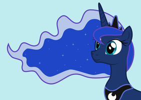 Princess Luna by RanmaSayo