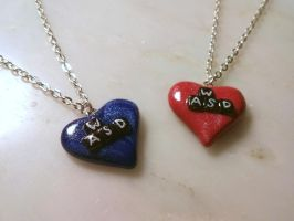 PC Gamer WASD Necklaces by Euphyley