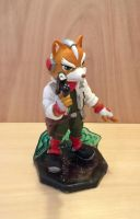 Fox McCloud Painted by vrlovecats