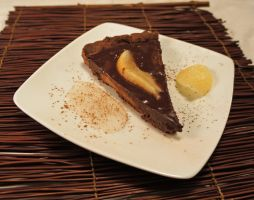 Double Chocolate Pear Tart by RepoLadyWallace